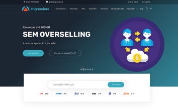 Trignosfera lança o seu novo Website e imagem Visual